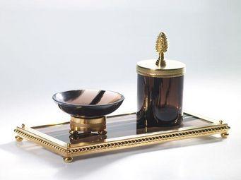 Cristal Et Bronze -  - Accessoire De Salle De Bains (set)