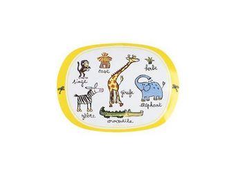 La Chaise Longue - set de table 33x45cm jungle - Assiette Bébé