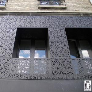 DAMPERE - tole ajourée - Parement Mural Extérieur
