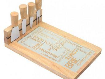 La Chaise Longue - planche fromage 4 couteaux aoc - Planche À Fromage