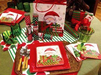 CASPARI - santa - Vaisselle De Noël Et Fêtes