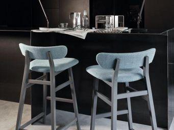 GERVASONI - brick - Chaise Haute De Bar