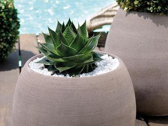 DEROMA France - vaso goccia grigio - Pot De Jardin