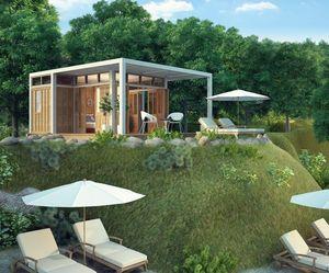 TECK TIME - 30 m² modèle t - Maison De Plain Pied