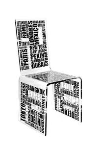 ACRILA - chaise city acrila - Chaise