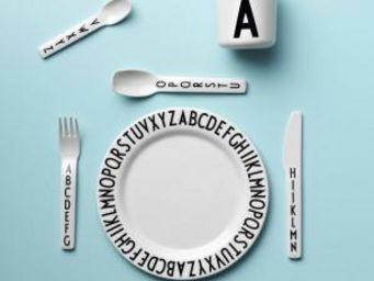 DESIGN LETTERS -  - Assiette Plate