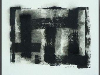 VERSION - noir désir - Tableau Contemporain