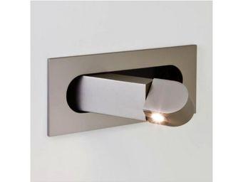 ASTRO LIGHTING - applique encastrable digit led interrupteur nickel - Applique