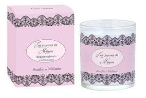 Amelie et Melanie - les charmes de mélanie - Bougie Parfumée