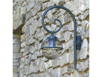Roger Pradier - boule lumineuse avec potence boréal 1 n°2 - Applique D'extérieur