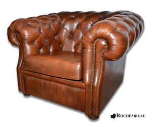 ROCHEMBEAU - cook - Fauteuil Chesterfield