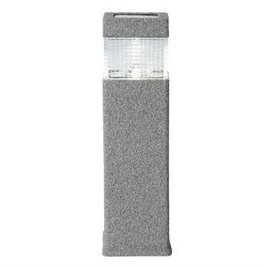Best Season - solar - borne extérieur solaire led ciment h37,5cm - Borne D'extérieur