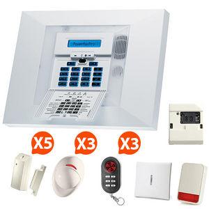 CFP SECURITE - alarme maison sans fil gsm visonic nfa2p kit 8+ - Alarme