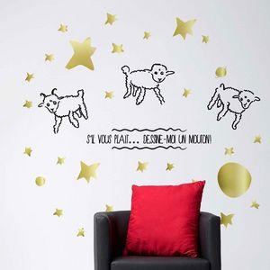 PARISTIC - stickers enfant - Sticker Décor Adhésif Enfant
