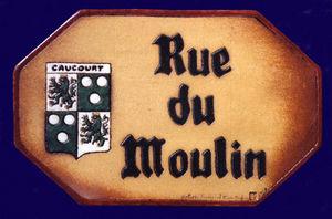 POTERIE TOURNESOL -  - Plaque De Nom De Rue