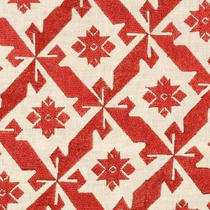 Vaughan - samos embroidered - Tissu D'ameublement