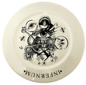 KE-WORLD -  - Assiette Plate