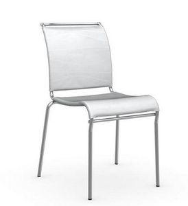 Calligaris - chaise italienne air de calligaris structure acier - Chaise