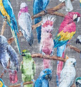 NICOLETTE MAYER COLLECTION - cockatoo fantasia yardage - Tissu Imprimé