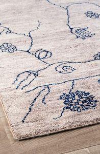 MASSIMO - garden | natural grey blue - Tapis Contemporain