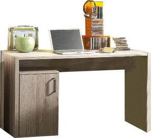 WHITE LABEL - bureau avec caisson en bois pour enfant - Bureau
