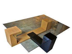 FRED H DESIGN - rue bretonnerie - Table Basse Forme Originale