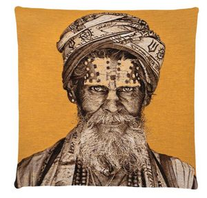 FS HOME COLLECTIONS - bandu baba- - Coussin Carré