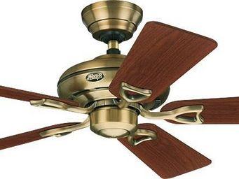 Hunter - ventilateur de plafond classique ronze antique et - Ventilateur De Plafond