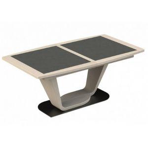 Girardeau - table tonneau céramique macao - Table De Repas Rectangulaire