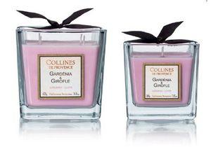 Collines De Provence - gardénia & girofle - Bougie Parfumée