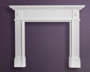 Stevensons Of Norwich - fp4 balmoral georgian fireplace - Manteau De Cheminée
