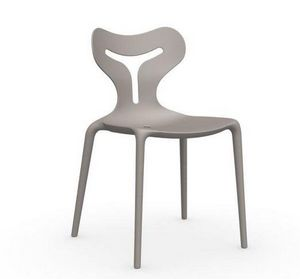 Calligaris - chaise empilable area 51 de calligaris grège - Chaise