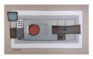 CORES ART - iguacu - Tableau Contemporain