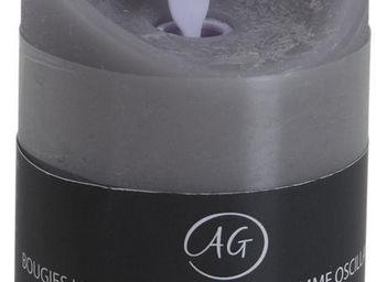 Aubry-Gaspard - bougie à leds parfum fleur de coton - Fausse Bougie Électrique