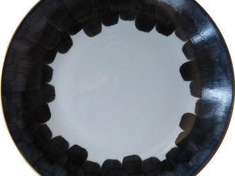 Marie Daage - cercle d'ecailles - Assiette Plate