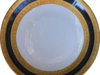 Marie Daage - ruban - Assiette Plate