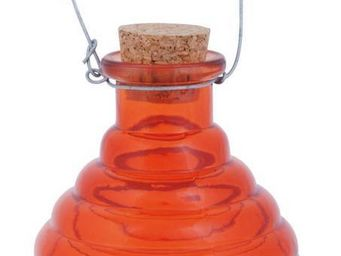 Esschert Design - piège à guêpes en verre orange orange - Attrape Guêpes