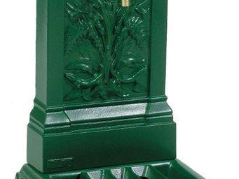 Fontes D'art De Dommartin - fontaine murale de jardin triton vert anglais - Fontaine Murale D'extérieur