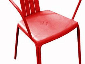 PROLOISIRS - fauteuil empilable azuro en aluminium (lot de 2) r - Chaise De Jardin