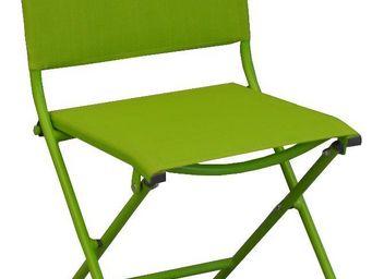 PROLOISIRS - chaise pliante textilène et acier (lot de 2) - Chaise De Jardin Pliante