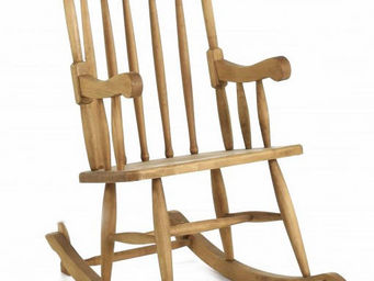 Couleurs Des Alpes - rocking-chair en pin massif miel - Rocking Chair