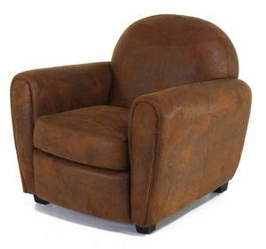 INWOOD - fauteuil club vintage maya - Canapé Club