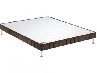 Bultex - bultex sommier tapissier confort ferme vison 110* - Sommier Fixe À Ressorts