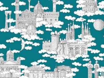 THEVENON - sur un nuage - Tissu D'ameublement