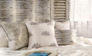 Zinc textile -  - Coussin Carré