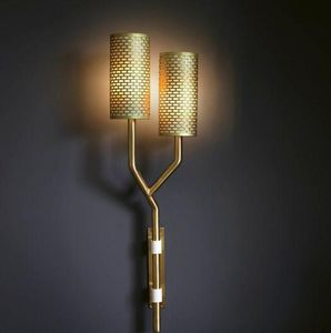 BERT FRANK - yew wall light - Applique