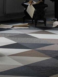 Bolon - triangle - Tapis Contemporain