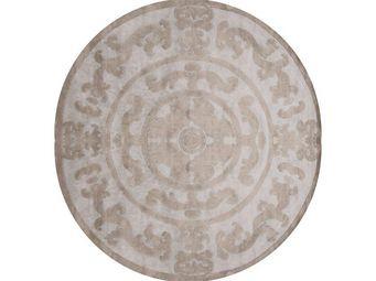EDITION BOUGAINVILLE - pompadour circle silver - Tapis Contemporain