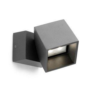 Leds C4 - applique extérieure carrée pivotable cubus led ip6 - Applique D'extérieur