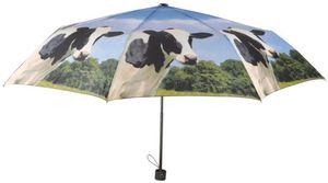 Esschert Design - parapluie pliant vache 100x57.5cm - Parapluie